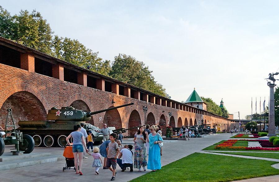 нижегородский кремль фото внутри длина