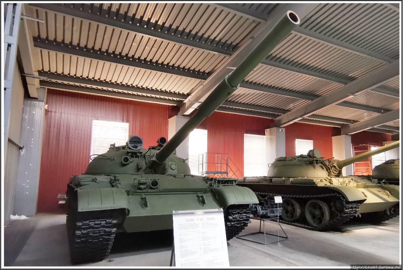 Танк Т-62. Разработан в 1