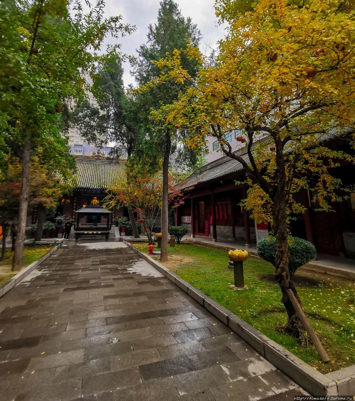 Дворец Восьми Бессмертных Сиань, Китай