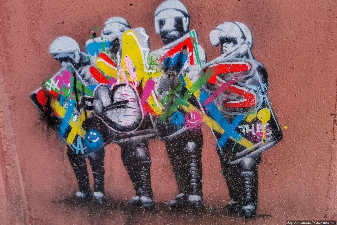 Новое уличное искусство в Ставангере и фестиваль NUART Ставангер, Норвегия