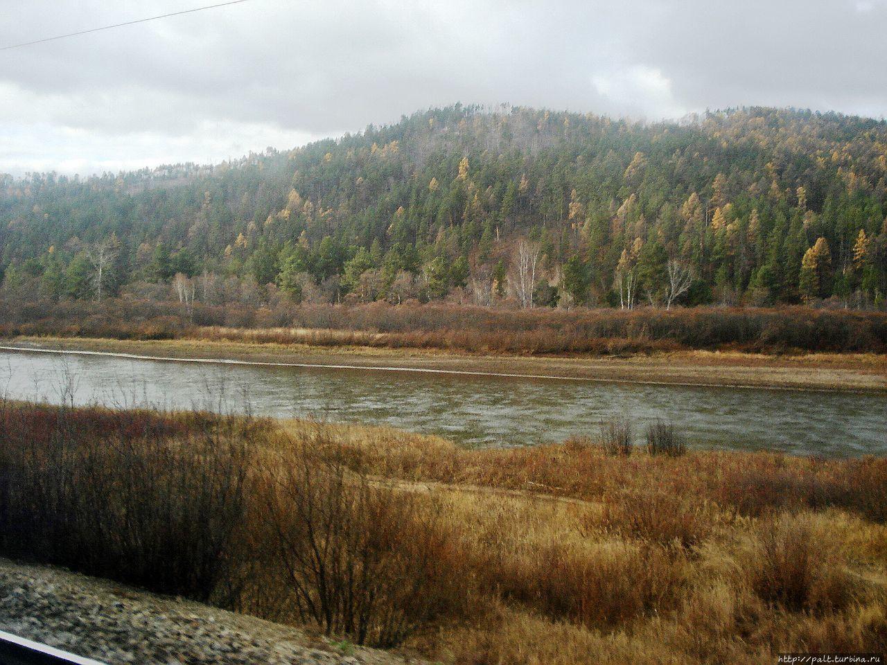 Река Хилок, приток реки С