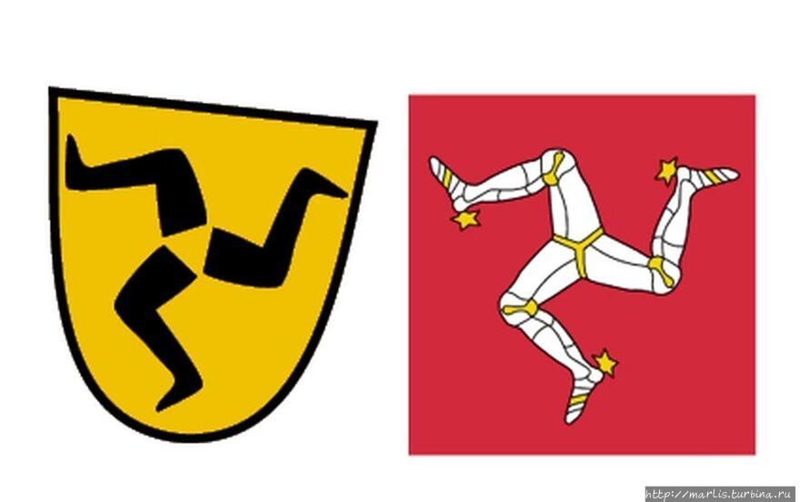Герб Фюссена и герб остро