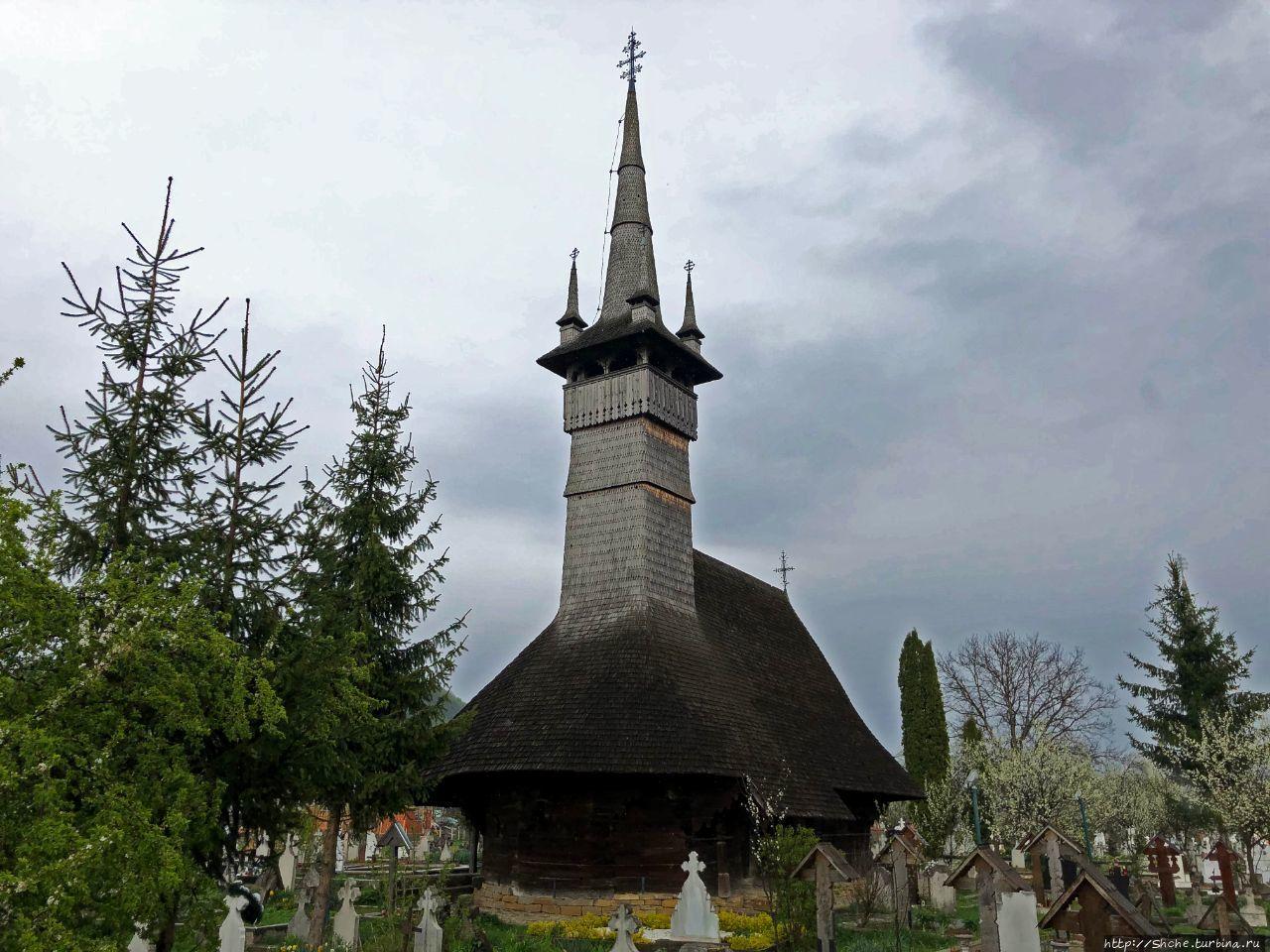 Церковь Святых Архангелов Рогоз, Румыния