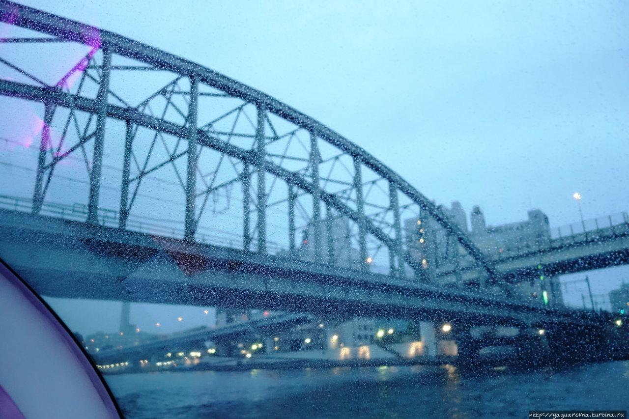 Тринадцать мостов и искусство реки Сумидагавы. Токио, Япония