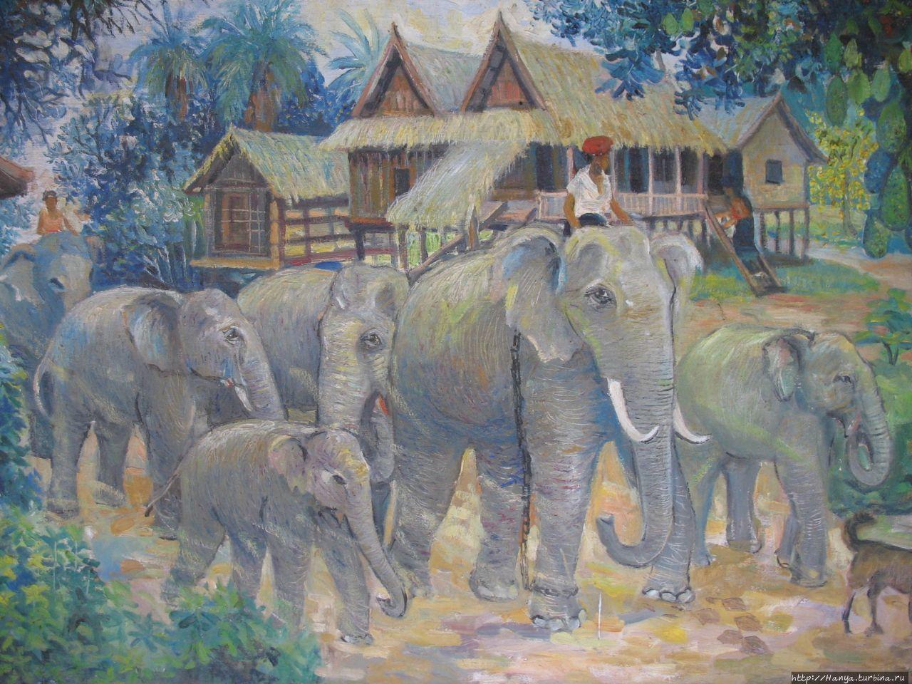 Картины художников в Ват
