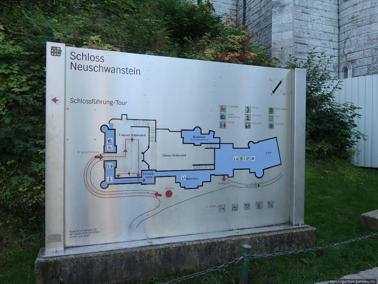 Карта-схема окрестностей