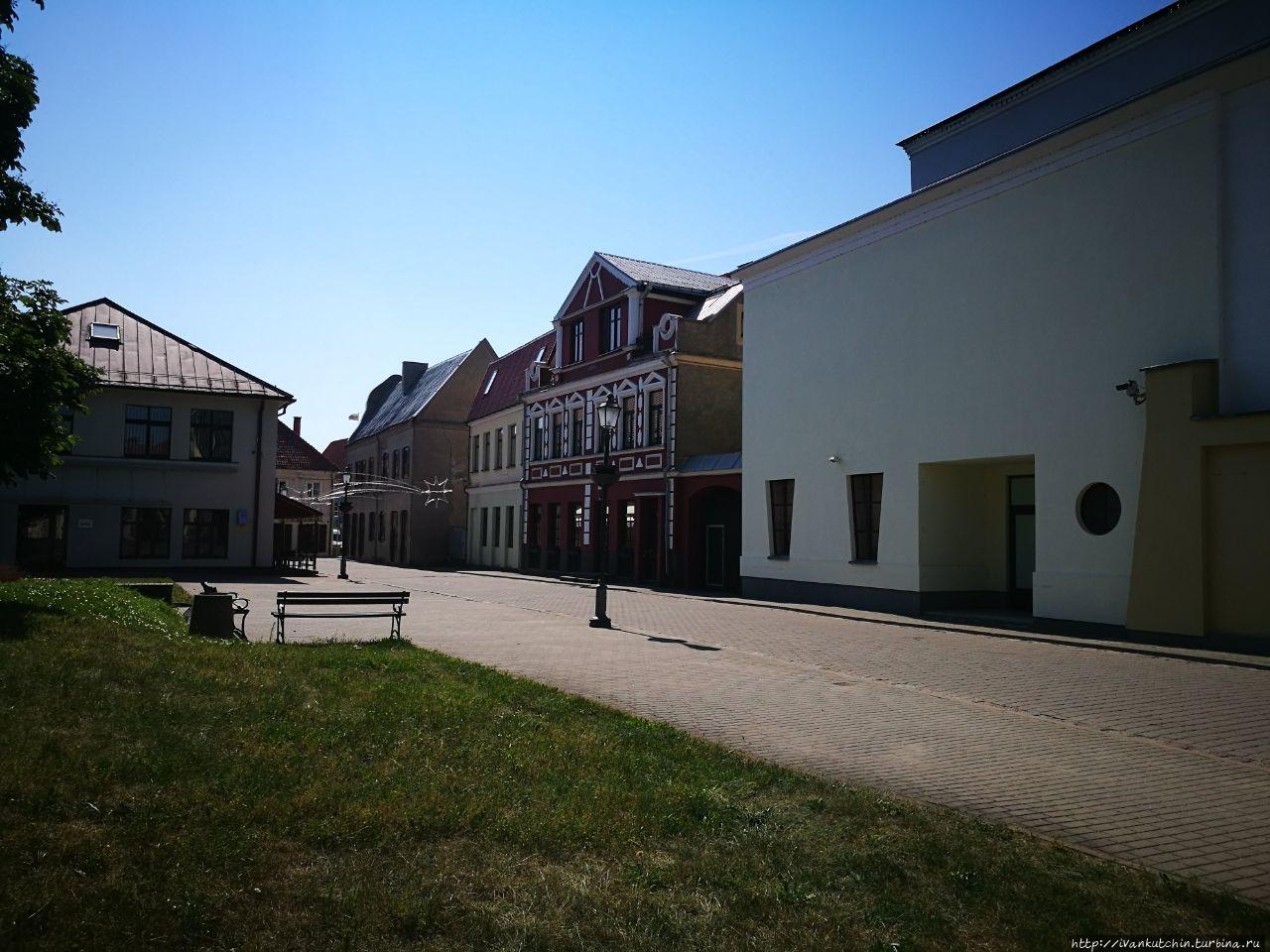 Прогулка по Кедайняю Кедайняй, Литва