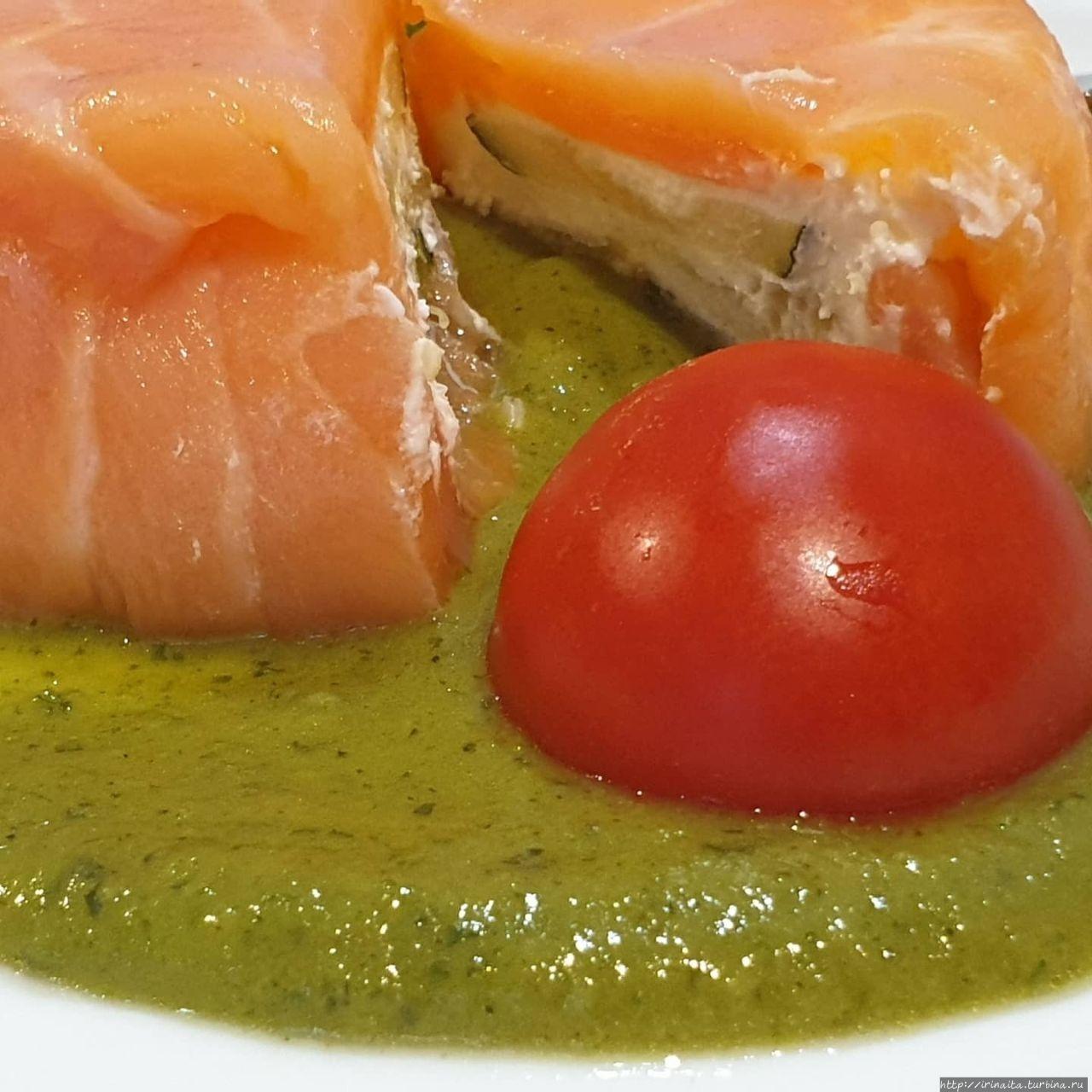 Новый недорогой рыбный ресторан в Риме уже открылся Рим, Италия