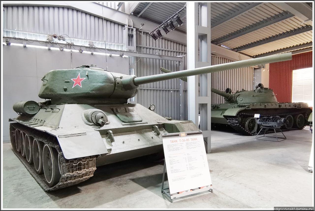 Танк Т-34-85. Разработан