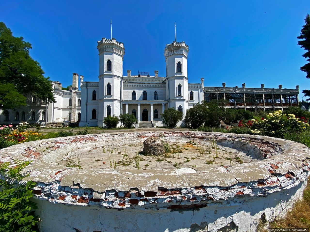 Шаровский дворец Шаровка, Украина