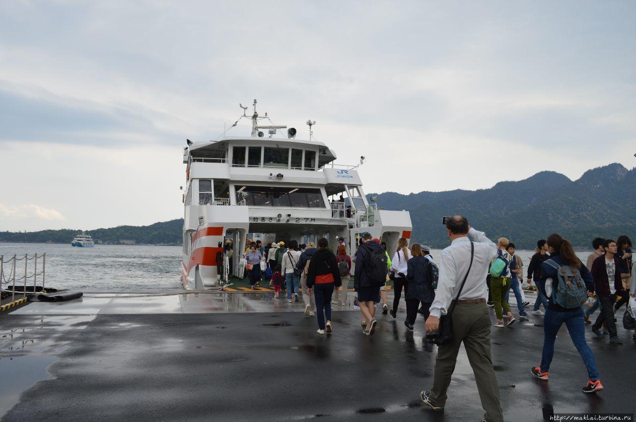 Вперед, на паром Хацукайти, Япония