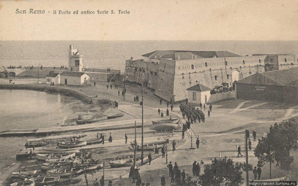 Старая открытка, фото из