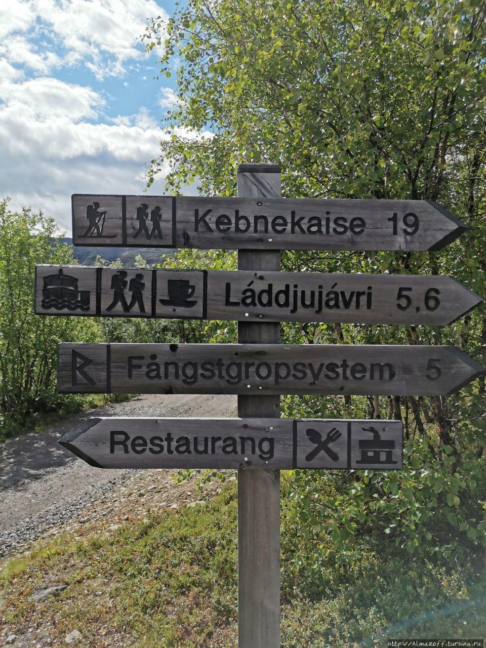 Ещё одна саамская деревня, но уже в Швеции, туристическая. Никкалуокта, Швеция