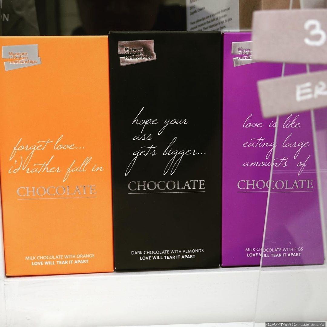 Шоколад — ещё один популя