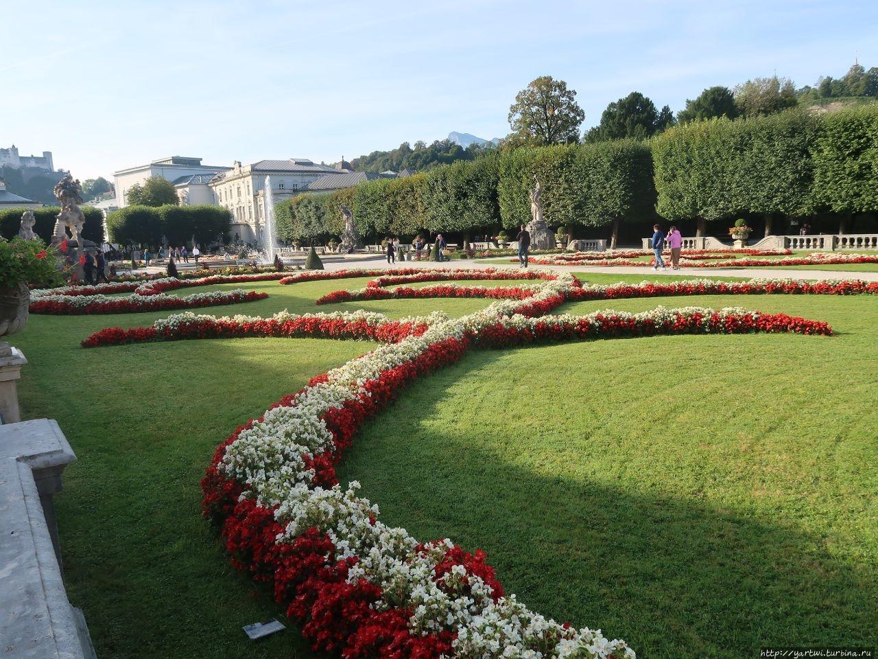 Дворцовый парк Мирабель