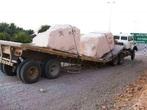 Многотонные мегалиты раздавившие современный грузовой транспорт