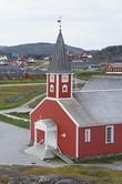Кафедральный собор с часами на шпиле