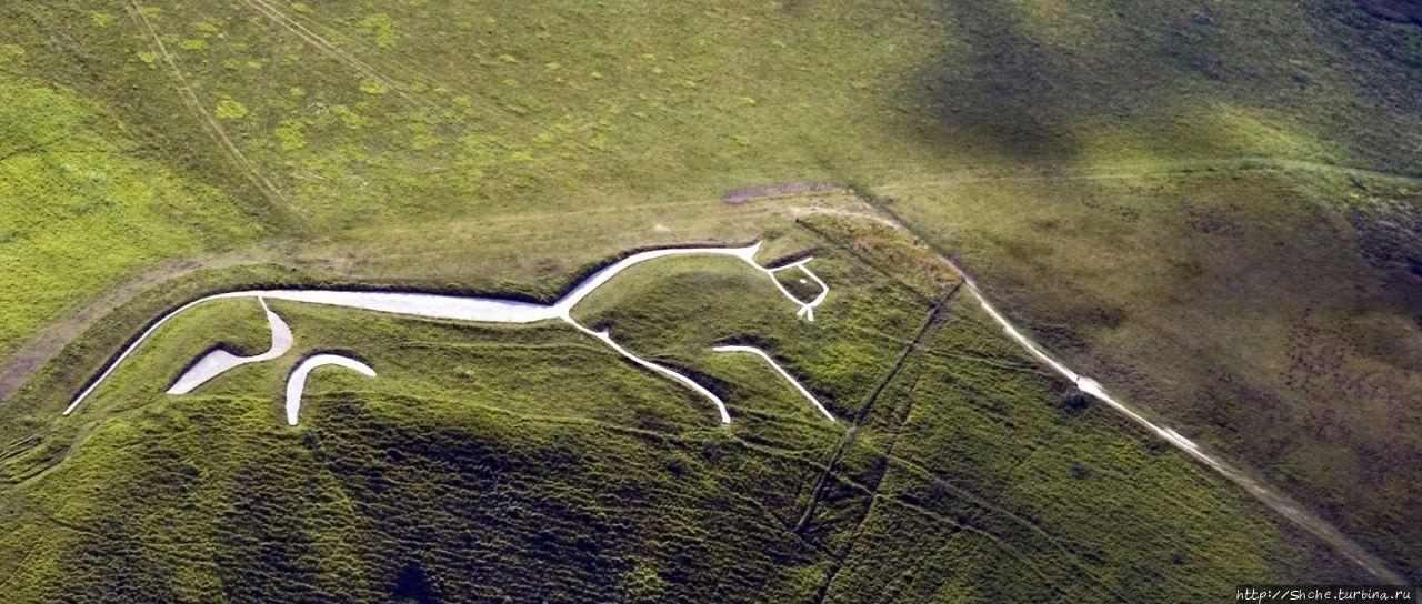 Uffington White Horse, фо