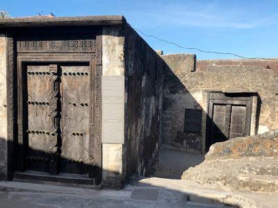 оманские двери в форте